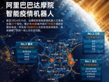阿里巴巴达摩院:智能疫情机器人已免费服务全国27省份