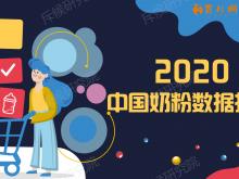 关于《2020中国奶粉数据》报告 行业大咖是这么解读的